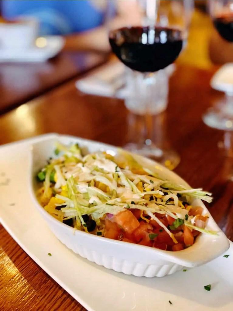jasper food tour taco bowl
