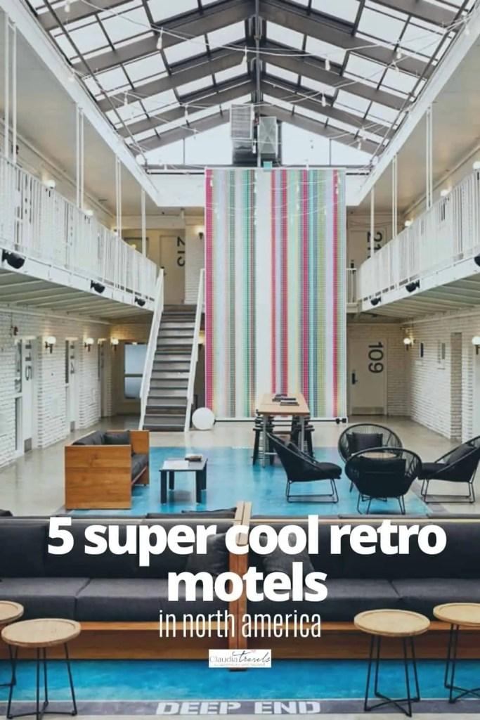 retro motels in north america