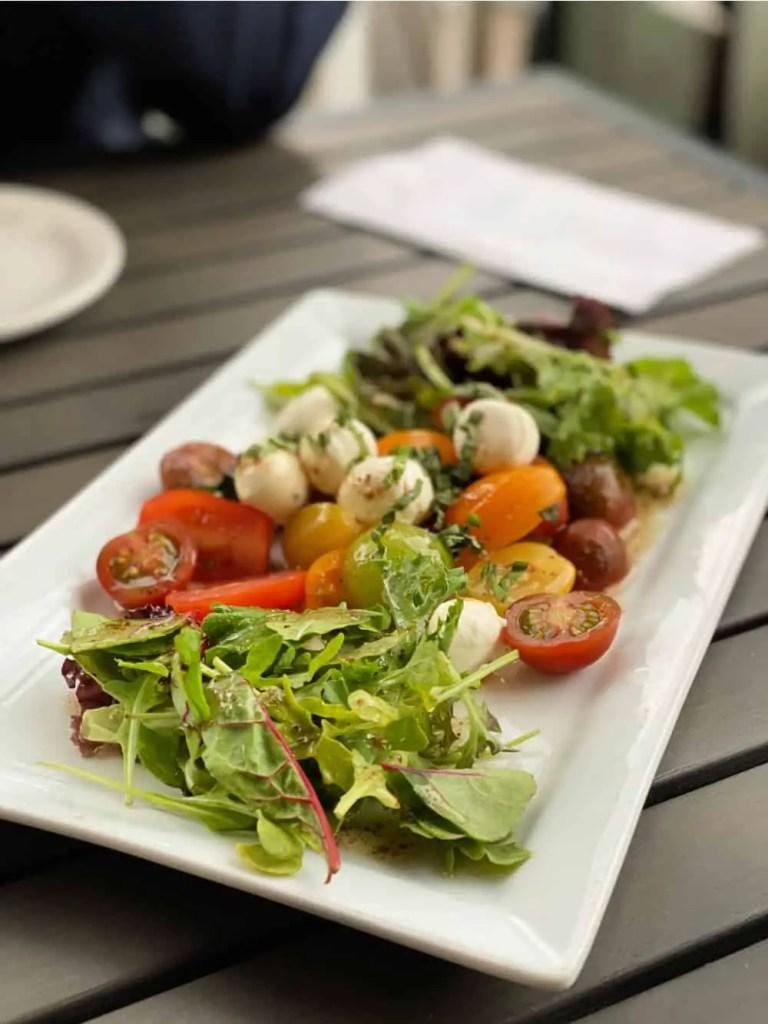 tekarra kitchen green salad