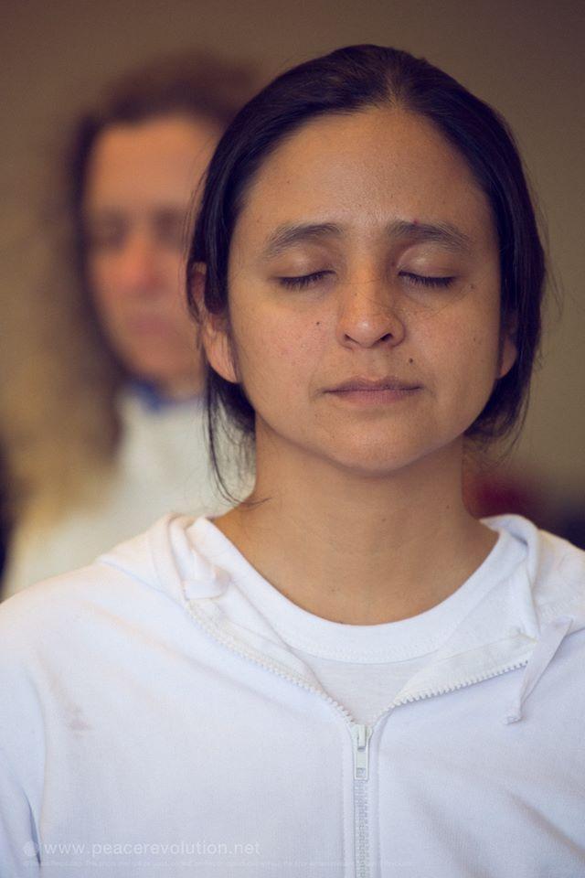 Retiro de Meditación, Uruguay, 2014,Claudia Vaca.
