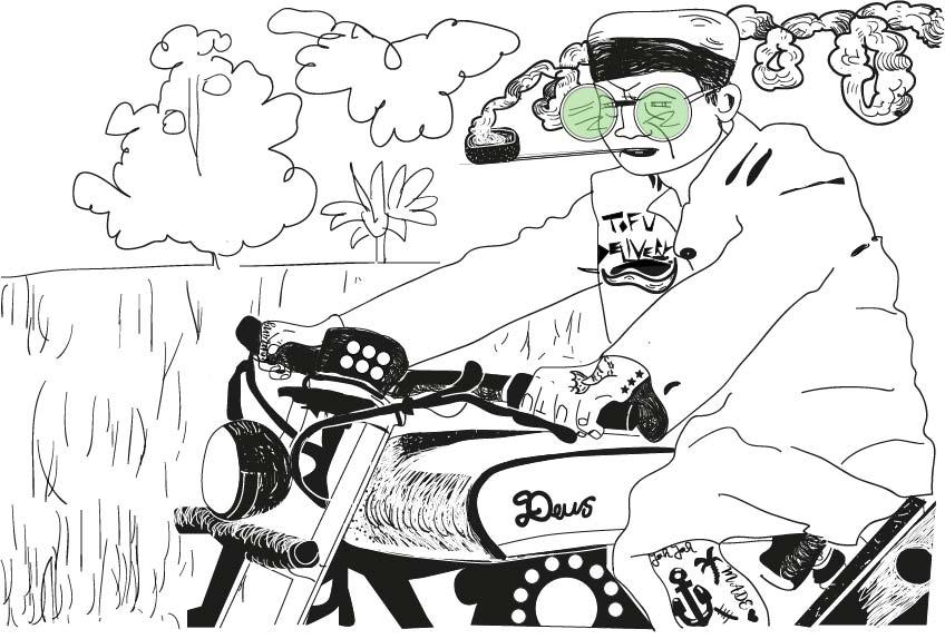 Claudie Linke Comic Illustration