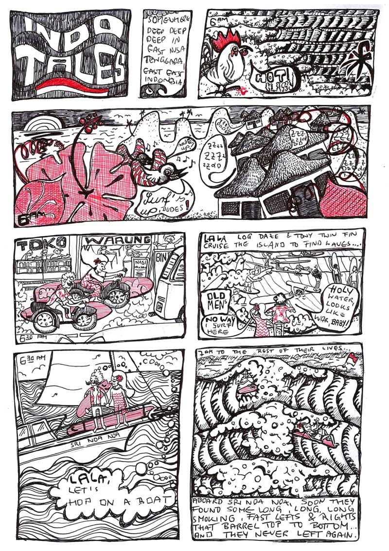 Claudie Linke Illustration_Comic