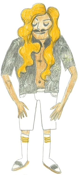 Character Design (Colored Pencil)