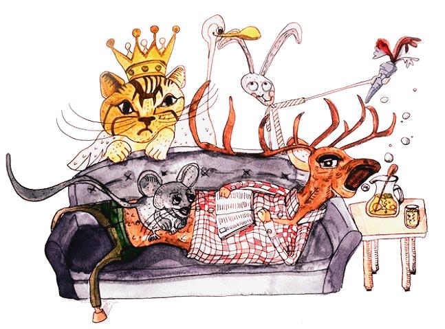 Claudie Linke_Children Illustration