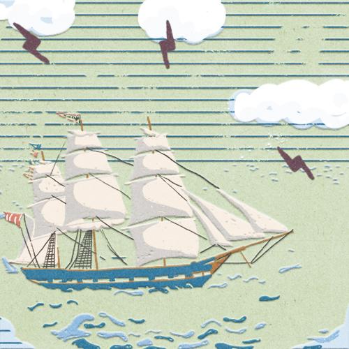 Claudie Linke Illustration_VOC Ship Nr 1