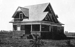 Home of F.E. Shaw at 741 Atlantic Avenue on Ocean View tract with no neighbors.