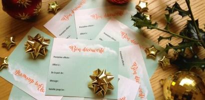 Bon Découverte Séance de Sophrologie à Offrir pour Noël