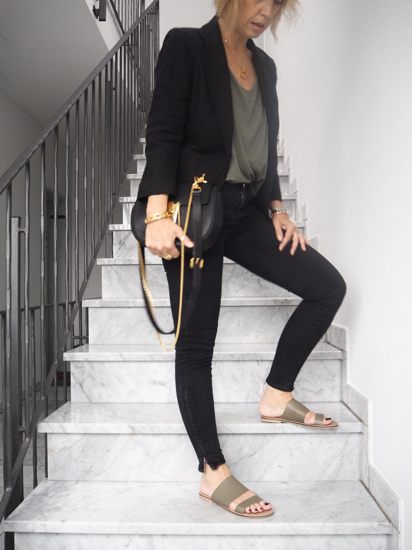 Khaki Afterwork Outfit