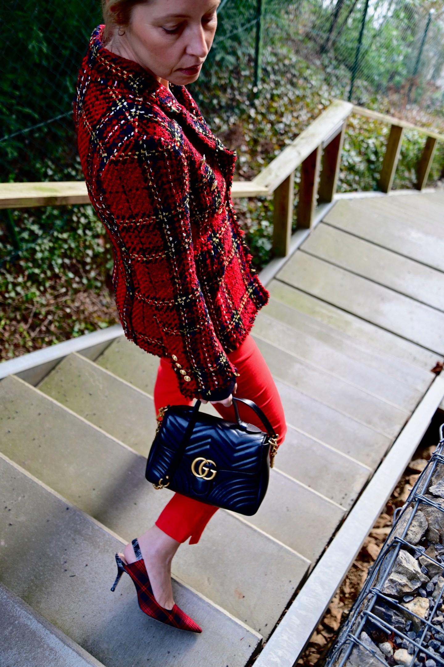 Red Tweed Jacket