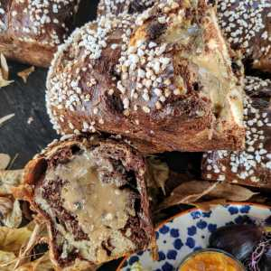 RECIPE & MEDIA: BRIOCHE-MARMOLADE-OLIVE OIL-WALNUT-CHOCLATCHIP (ENGLISH)