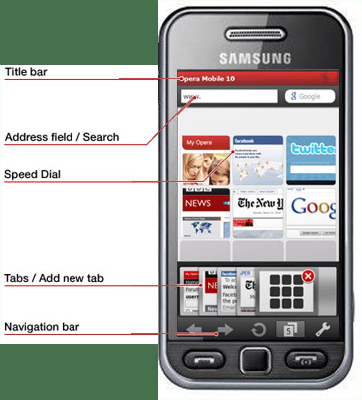 Opera Mini 5 chega a sua versão final com aplicativo específico para o Samsung Star (2/3)