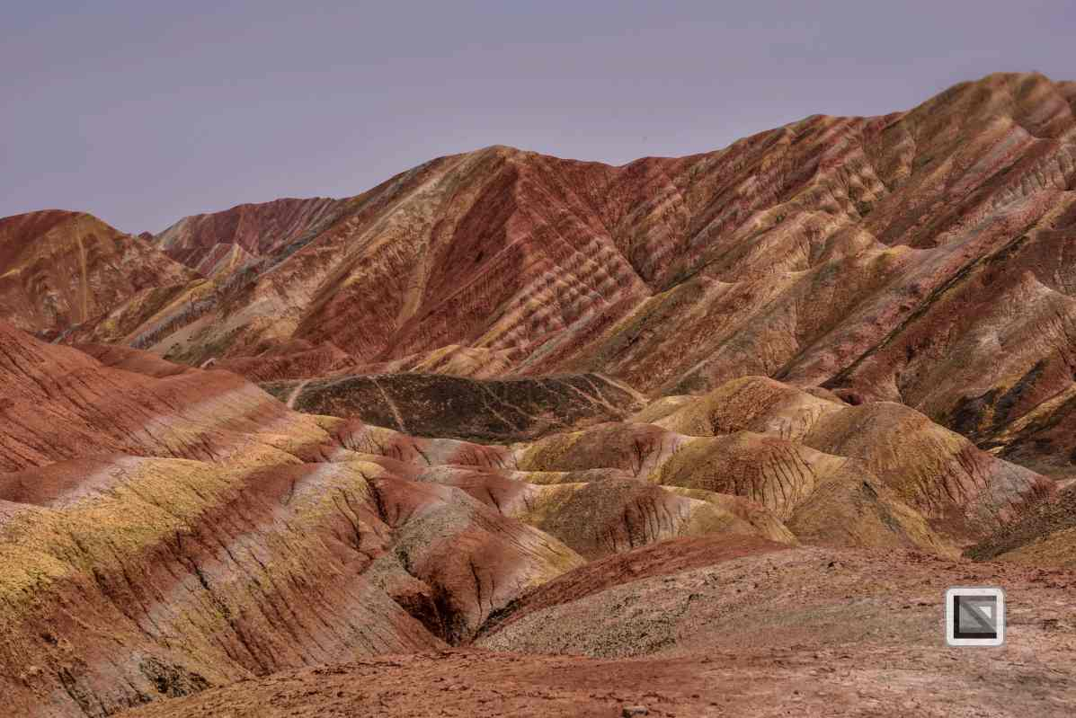 China - Gansu - Danxia Landform-5