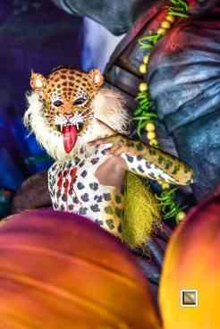 India - Kerala - Thrissur - Onam Festival - Pulikali-96