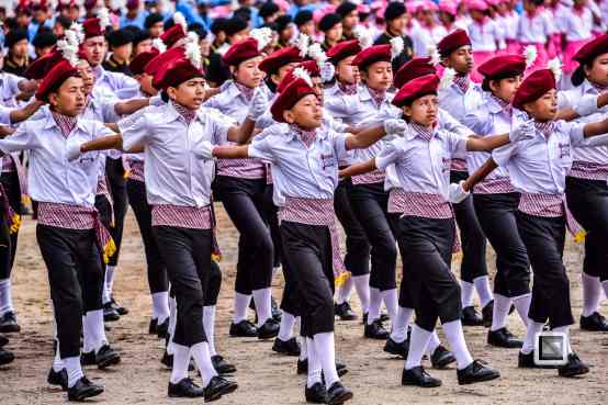 India - West Begal - Darjeeling - Independence Day Celebration-6