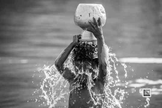 Myanmar Chin Tribe Portraits Black and White Mrauk-U-36