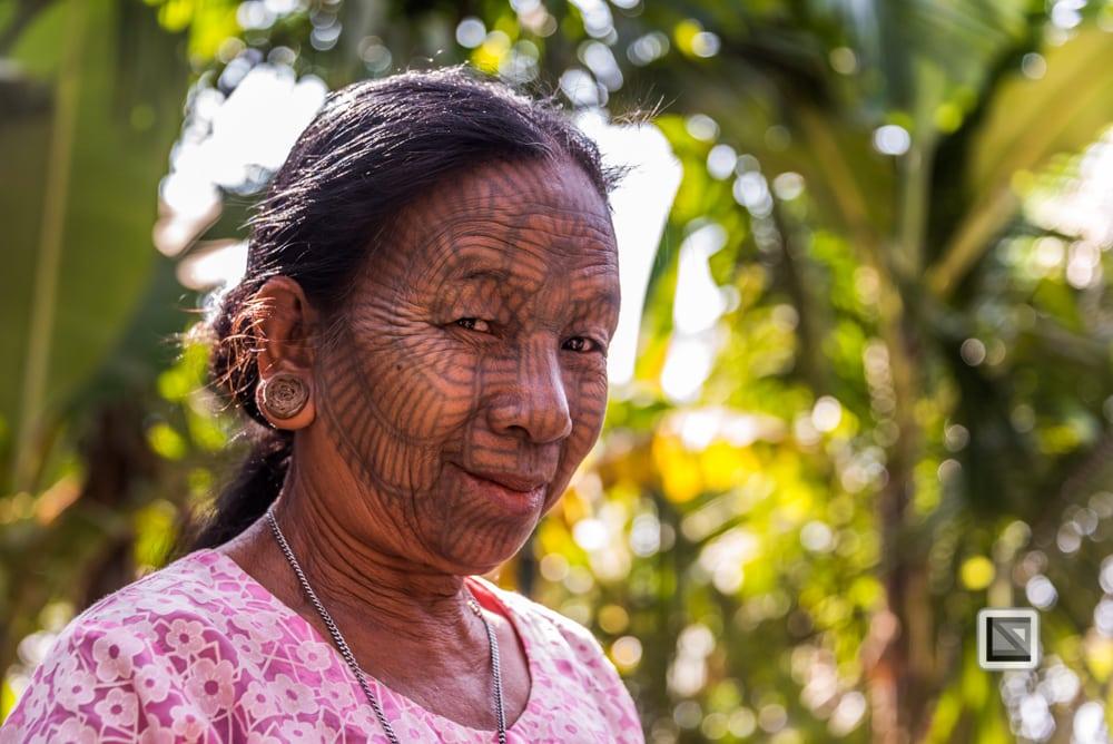 faces of asia -Mrauk U und Lay Mro River-201