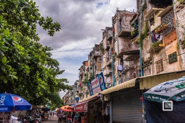 Phnom Penh White Building_