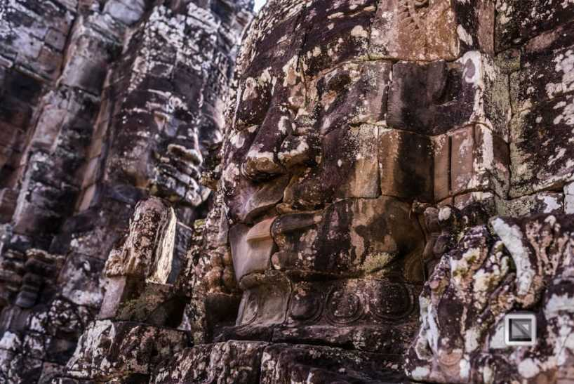 The temple ruins of Angkor in Siem Reap, Cambodia - one of the most important archaeological sites of Southeast Asia