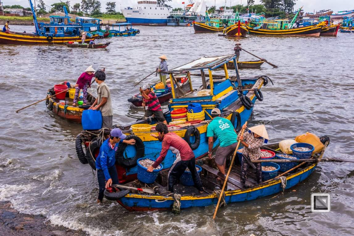 Phan Thiet Fish Market - Vietnam-52