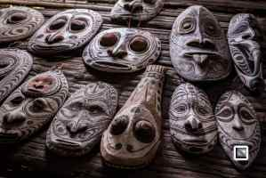 The mighty Sepik river in Papua New Guinea and its residents