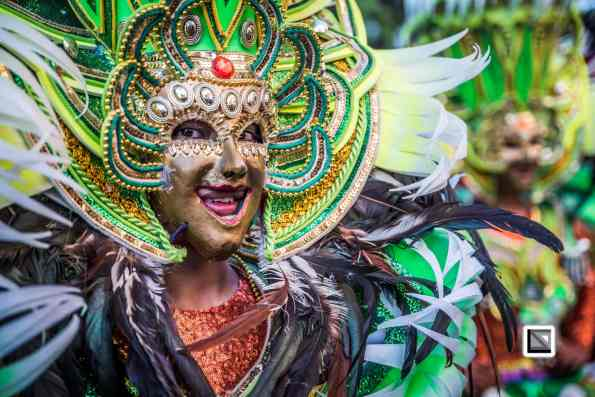 Masskara Festival in Bacolod, Negros Oriental, Philippines