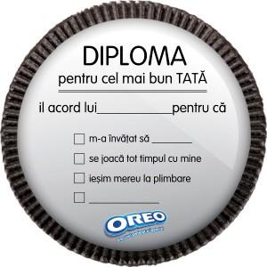 DIPLOMA PLIMBARE OREO-20cm