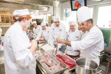 Centrul de Pregatire in Gastronomie-eveniment bloggeri 7