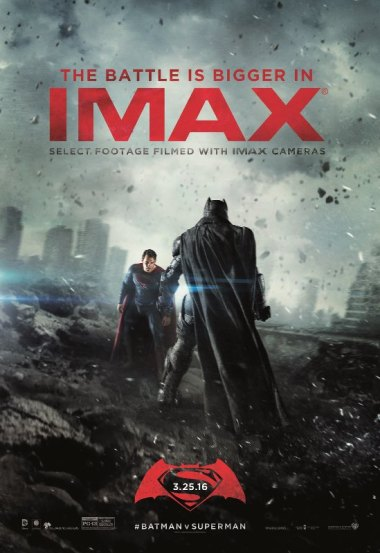 Batman vs Superman-IMAX Poster