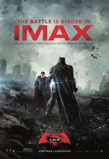 Batman vs Superman-IMAX Poster