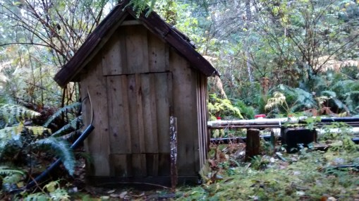 Hydro-system shed...