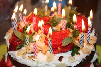 R.'s 20th Birthday Cake