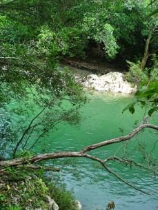 Majestoso rio verde que serpenteia a fazenda - Cachoeira Boca da Onça- Photo by Claudia Grunow