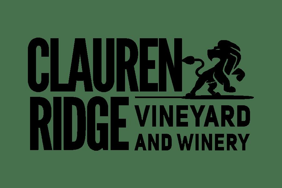 Logo shirt with the Clauren Ridge Vineyard and Winery Logo
