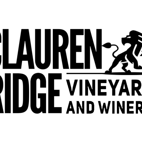 Logo shirt with the Clauren Ridge Vineyard and Winery Logo