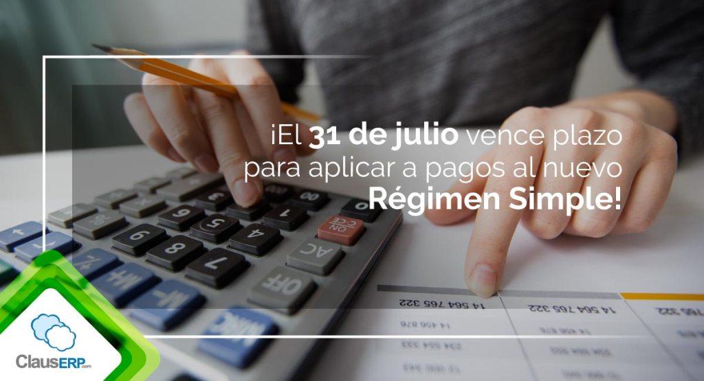 Inician pagos nuevo regimen simple