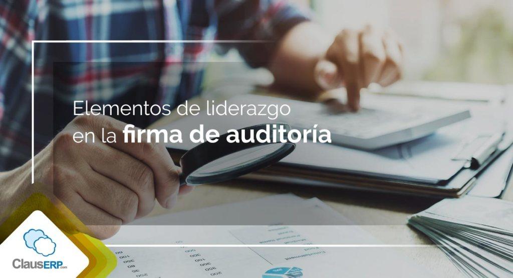 Firma de auditoría contable