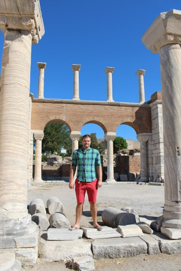 Me at the Basilica of St John the Apostle Ruins - September 2013