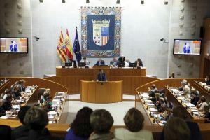 Enmiendas a la totalidad Ley modificación impuestos Aragón