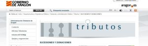 Nueva modificación del Impuesto de Sucesiones y Donaciones en Aragón