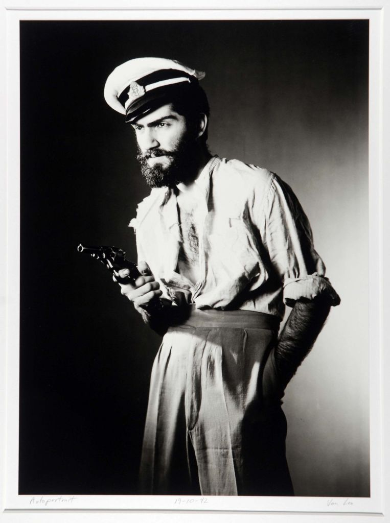 Autoportrait, 19-10-42 Photograph by Van Leo, copyright American University in Cairo