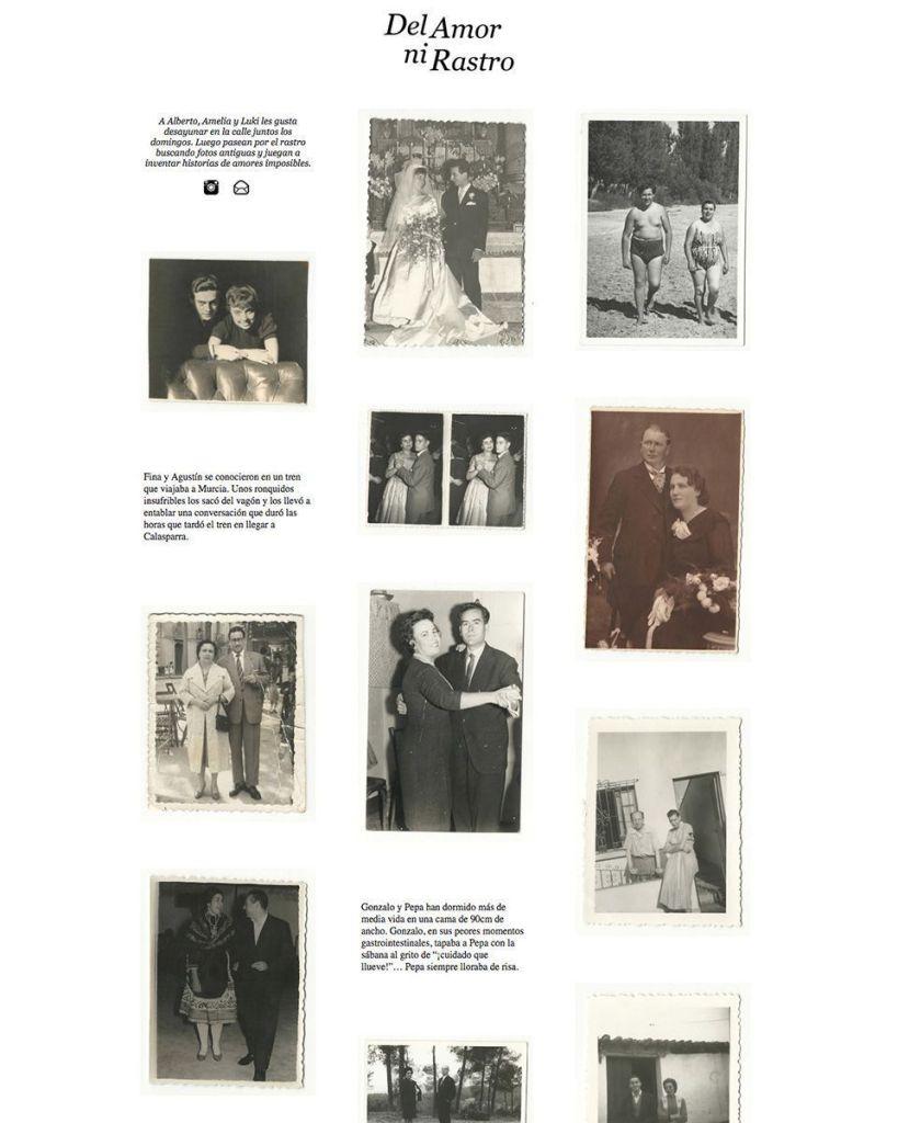 Blog de 'Del Amor ni Rastro'