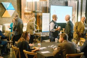 Two networking times built into the agenda allowed attendees plenty of time to connect and build relationships with other industry leaders