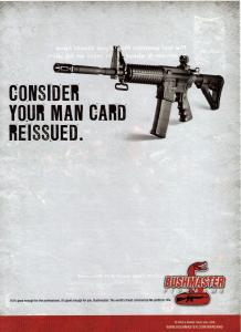 Ad for the Bushmaster .223