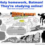 Holy homework, Batman! College credit for comics online!
