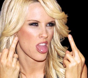 Jenny McCarthy, former Playboy model and current anti-vaxxer wingnut.