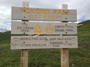 Kokomo Pass