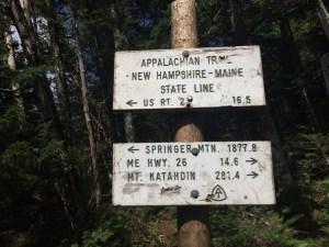 Clay Bonnyman Evans on the Appalachian Trail