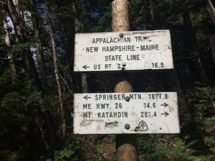 Clay Bonnyman Evans on the Appalachian Trail