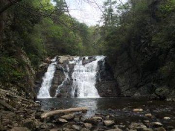 Appalachian Trail Laurel Falls