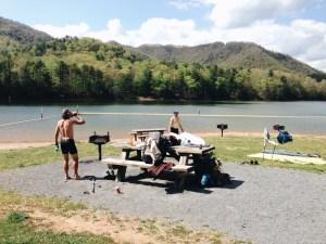 Appalachian Trail Watauga Lake